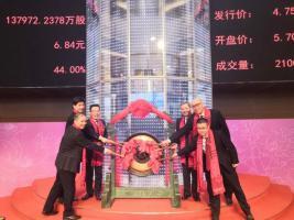 明阳智能上海主板成功上市