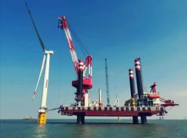 80台风机吊装并网! 龙源江苏大丰海上风电项目再破记录