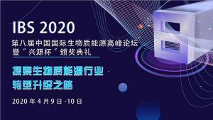 【焦点直击】IBS2020第八届中国国际生物质能源高峰论坛  探索生物质能源转型升级之路
