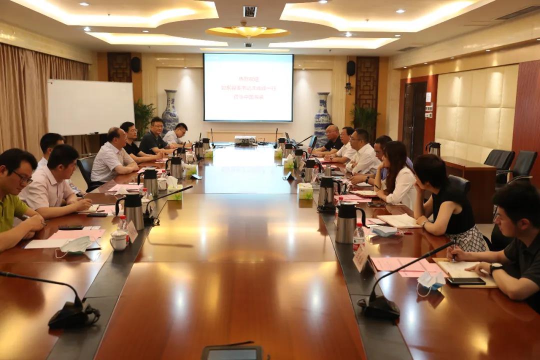 江苏如东县委书记沈峻峰到访中国船舶集团海装风电