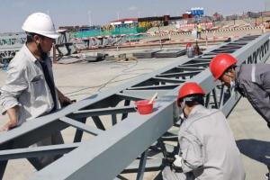 """科环集团龙源工程公司上海庙项目开展""""金属监督检验""""工作"""