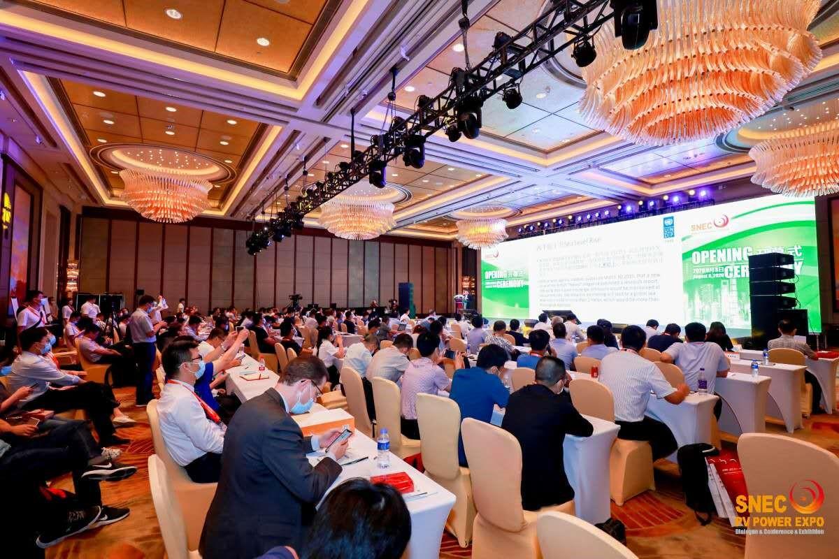 带动产业的蓬勃发展,SNEC(2020)国际储能和氢能大会在沪盛大开幕!