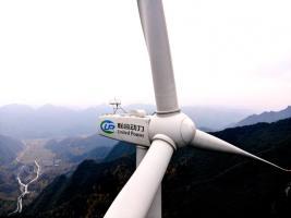 联合动力供货的重庆回山坪项目风机全部并网发电