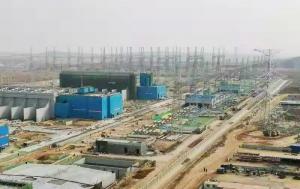 冲刺年度目标任务丨西电集团承接的陕北—武汉±800千伏特高压直流工程GIS安装有序推进