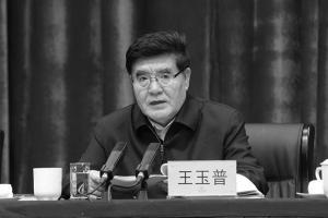 应急管理部部长王玉普因病逝世