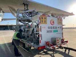 中国航油全力护航首都机场不一样的春运