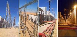 奋战开门红丨西电集团公司总承包的埃及Benban 500kV GIS变电站成套工程竣工投运